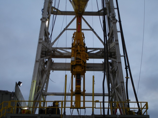 Top Drive Upgrades Installed on Land Rigs | KAT Industries, Inc