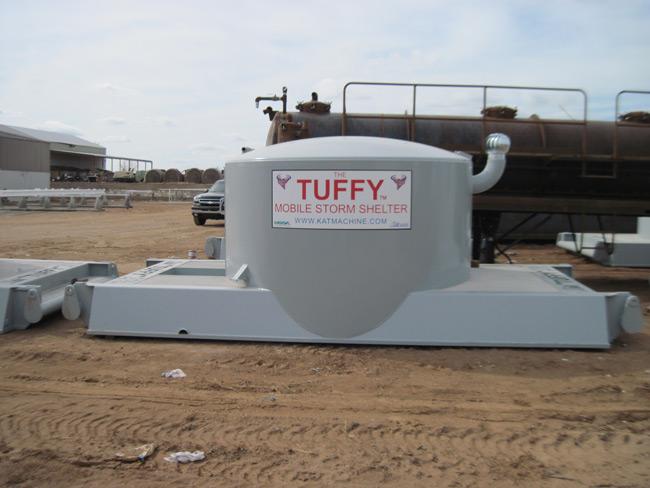 Portable Tornado Shelters : Mobile storm shelters kat industries inc